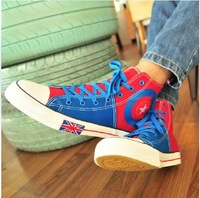 Men Preppy Canvas Casual Sneakers Footwear Fashion Shoes Sneakers (Size 39-44) 6605