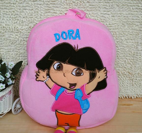 Grátis frete Dora the Explorer brinquedos para crianças saco de pré-escola mochila das crianças MR010(China (Mainland))