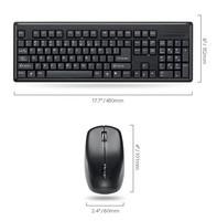 Brand New, wireless mouse,  wireless  keyboard for PC, Laptop. 2pcs /set