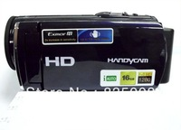 Free shipping HD digital video camera, 1080 p, 16 million pixel, 16 x digital zoom, a 3.0 -inch TFT display