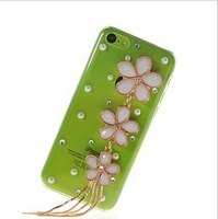 IPH/5/C phone shell female Korean fashion diamond fruit latest IPH/5/C phone protection shell