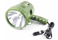 Car DC 12V Powered H3 55W Hunting Searching Spotlights Handheld Halogen Camping Working Portable light lamp lighting