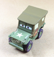 100% Original&Free Shipping Pixar Cars toys SARGE Diecast metal Car toy Loose