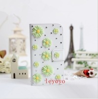 Five fruits turn around with diamond paste diamond mobile phone holster IPH/5/S/C protective sleeve