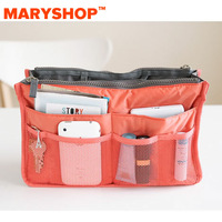 Package mail Maryshop thickening nappy bag liner multifunctional storage bag portable double zipper bag 2