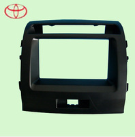 Factory Supply Special Car DVD Frame /Fascias/Panel For Toyota 2008 LAND CRUISER With  Black Color Free Shipping