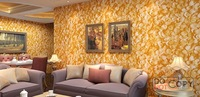 Modern home deco fashion 3D stereo PVC wallpaper for  wall dec tv/sofa/bed background rose romantice style
