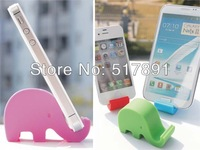 Elephant cartoon design Stand Holder for iPhone 5S 5C 5 for Samsung Galaxy