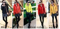 2013 women's winter coat jacket Slim Short padded winter jacket