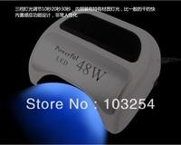 Free shipping by China post 18G LED Lamp 18G LED NAIL UV LIGHT 48 watts high power LED Lamp