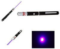 1Pcs 405nm 5mW Violet Purple Blue Ray Blue Laser Pointer Pen Newest