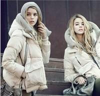 winter coat women down jacket parka jaquetas femininas 2014 high quality assurance kakhi beige Army green outerwear Clothing