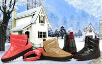 2013 new winter snow boots slip down a large cotton women's boots snow boots thick velvet cotton