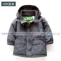 Small child male child outerwear top baby boy wadded jacket ultra-light winter wadded jacket male child clothing children's
