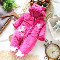Children's clothing winter clothes female child romper bodysuit creepiness service style romper jumpsuit clothes and climb