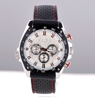 Casual fashion mechanical watch black Rubber strap male watches high quality  - free shipping