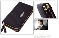 free shipping men bags geniune leather material business style brand wallet