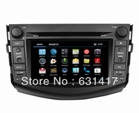 7inch Car Radio 2Din GPS DVD Stereo Player for Toyota RAV4(2006 2007 2008 2009 2010 12011 2012) WiFi 3G Ipod Bluetooth TV RDS
