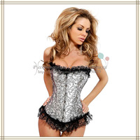 Ladies' Sexy Beautiful European Corset G-String Women Lingerie 2014 New Arrival SCW-13043 Free Shipping Russian Support