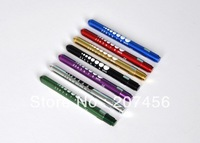 1pc Professional Diagnostic Medical Pupil Gauge REUSABLE Penlight Pen light LED
