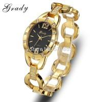 Gold watch face women watches sale good high quality Gold watch luxury fashion women watches