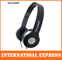 New arrival stereo Headphone for ipod for samsung for blackberry OVLENG X1 Free ship