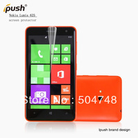 5pcs/lot Clear Screen Protector Film For Nokia Lumia 625 Screen Guard,Free Shipping With Ipush Retails Package