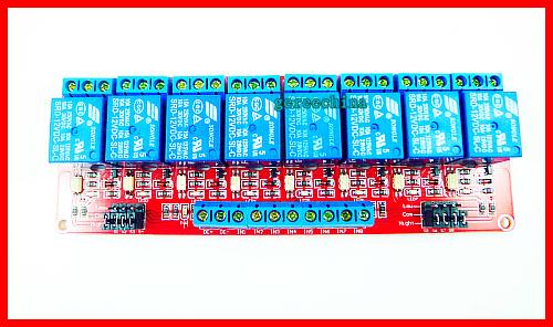 Demo Code 4-channel Arduino Relay Module , 5V / 12V Relay