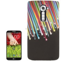 Colorful Meteor Pattern Plastic Case for LG Optimus G2 / D802