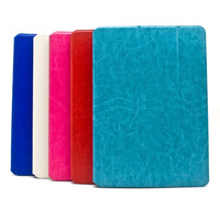 Crazy Horse Style Solid Color PU Leather Stand Case For iPad Air iPad5