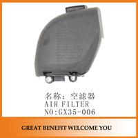 GX35 brush cutter part air filter