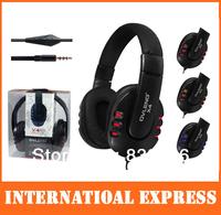 Oleng OV-X4/mobile phone headphones/with mircophone/red blue orange