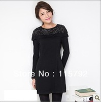 New arrival long sleeve women dress 100% high quality promotation