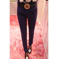 2013 autumn women's all-match suit pants female casual pants send strap