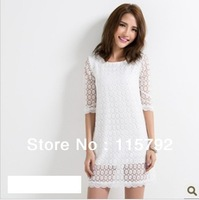 High recommended lace dress for women 100% good quality original design