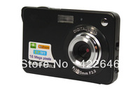 Free Shipping,16.1MP digital camera professional with 2.4'' Included Rechargable Lithium battery+AC charger+Alumium+HD.
