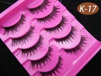15 Pairs Thick Section Star Models False Eyelashes Eyelash Eye Lashes Makeup K-17 Handmade