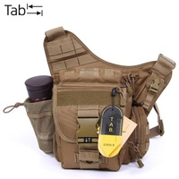 2014 free shipping Tab men super outdoor hiking bag waist pack multifunctional tactical cross-body shoulder  camera bag male