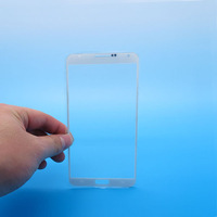High Quality White Outer LCD Screen Lens Top Glass Replace for Samsung Galaxy NOTE 3 III N9000 N9006 N9005 Free Shipping