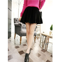 Women's 2013 autumn gentlewomen high waist bust skirt autumn and winter plus size woolen short skirt puff skirt