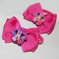 Fashion Cute Princess headwear hair accessories Minnie BOW Elastic headband Hair jewelry Children kids girl baby gift PAH-3025