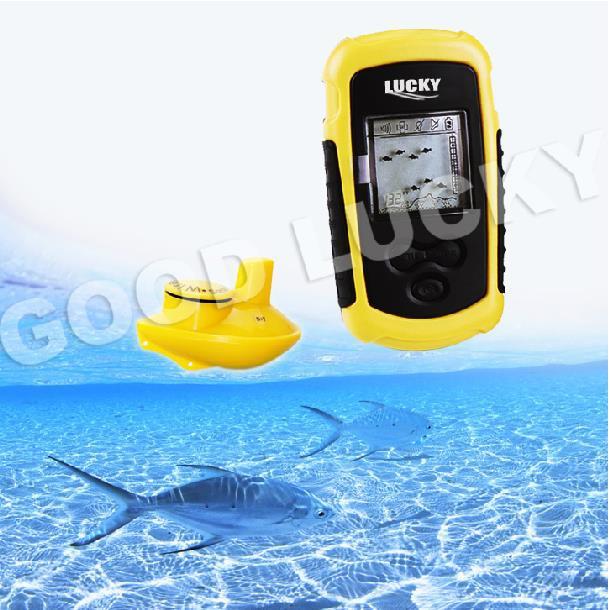 100 meters wireless fish finder fish visual water boat(China (Mainland))