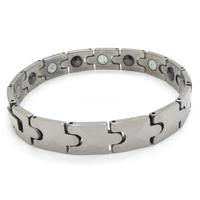 Men's Classic Tungsten Carbide Bracelet Chain Tungsten Steel Energy Magnetic Bracelets Jewellery free shipping