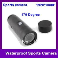 FULL HD 1080P Waterproof Sport Camera DVR 30M Underwater 170 Degree Lens Outdoor Action Video Recorder F16