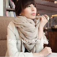 New Fashion,Comfortable cotton scarves,Accessories Scarves Muffler spring Autumn shawl scarf for women wholesale,24 color