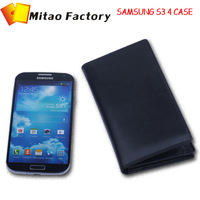 Holiday selling New Luxury Leather Brand For Samsusng Galxy S3 S4 4s Mobile Phone Case Free Shipping