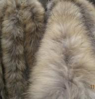 Large fashion raccoon fur collar cap of thickening raccoon fur scarf ultra wide fur collar  for DIY