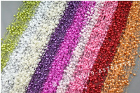 Free Shipping 75m/roll Pearl Beads Garland Wedding Centerpiece flower/table Decoration DIY accessory