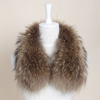 Large raccoon fur down coat cotton clothes outerwear fur collar cap of son wool tops