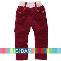 Baby Girl Pants Winter Fashion Elasticized Waist Trousers,Free Shipping K3889